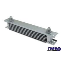 Olajhűtő TurboWorks 7-soros 260x50x50 AN10 Ezüst
